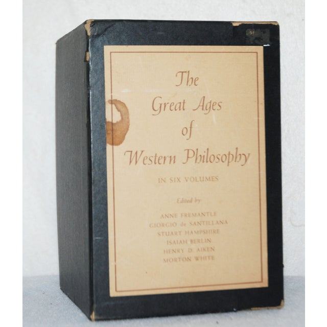 Image of Vintage Ages of Philosophy Books - Set of 6