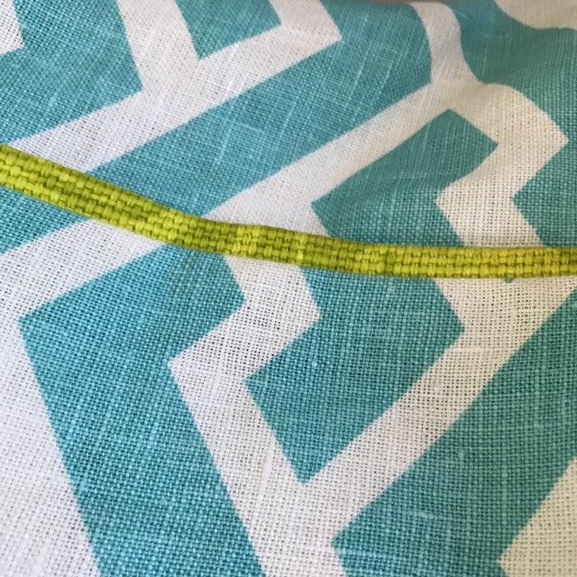 Quadrille China Seas Aga Aqua Pillow - Image 6 of 6