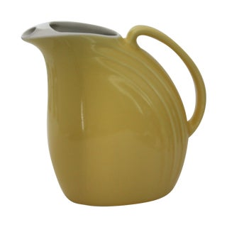 Mid-Century Hall Yellow Pitcher