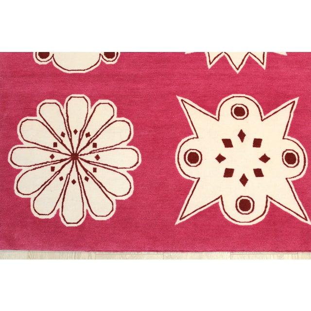 "Image of Madeline Weinrib Pink ""Medina"" Rug - 4' x 6'"