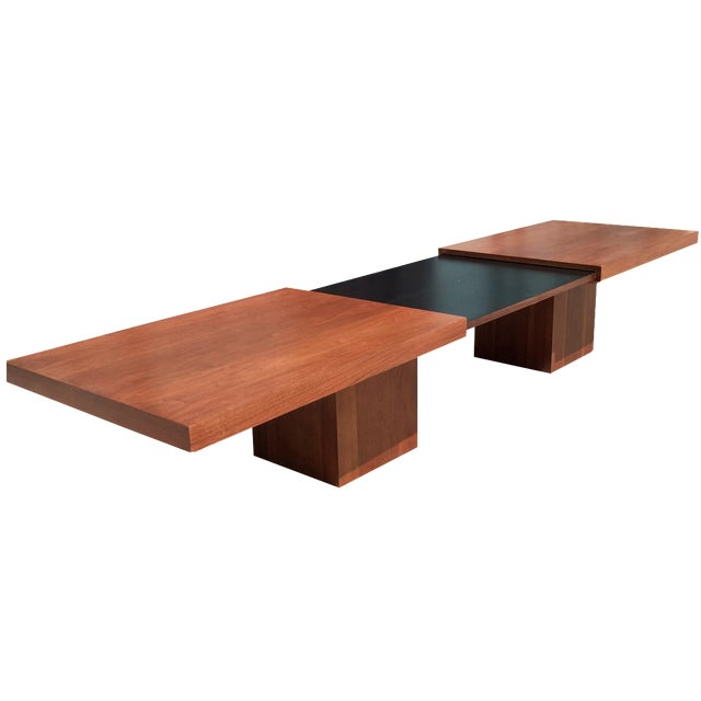 Brown Saltman Expanding Coffee Table Chairish