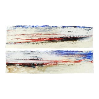 Abstract Diptych by George Turner