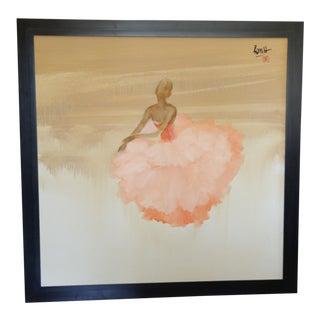 """""""Ballerina Pink"""" Oil on Canvas"""
