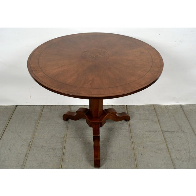 French Antique Louis Philippe Tilt-Top End Table - Image 2 of 9