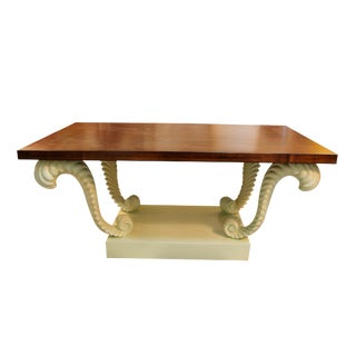 Regency Walnut Rectangular Table