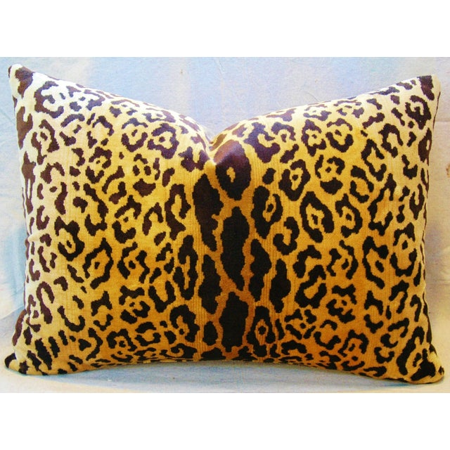 Scalamandre Cut-Velvet Leopardo Pillow - Image 3 of 8