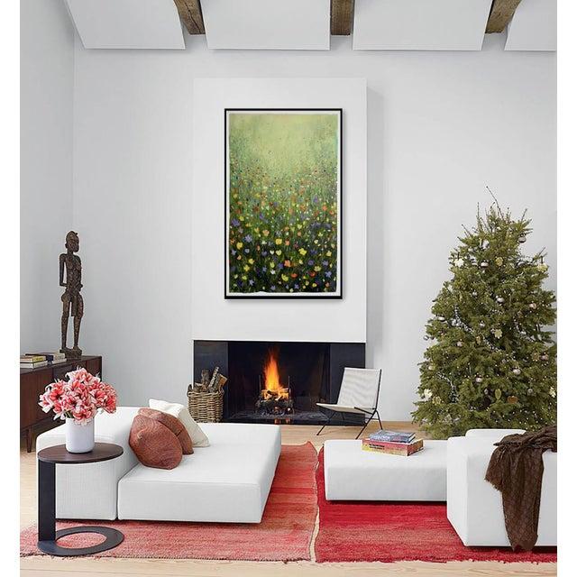 """Flowerfield Three"" Painting - Image 4 of 8"