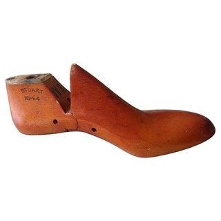 Shoe Manufacturer's Cobbler's Wood Mold