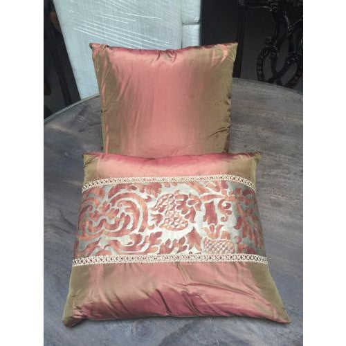 Image of 1950's Mariano Fortuny Pillows - Set of 3