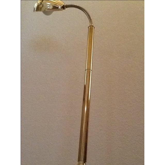 Mid Century Modern Brass Shell Floor Lamp Chairish