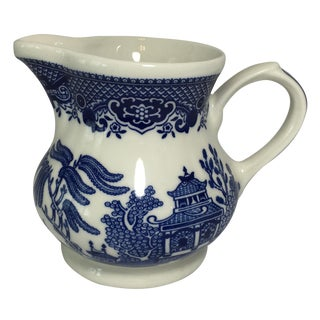 Churchill Blue Willow Creamer
