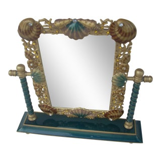Shell Embellished Dressing Table Mirror