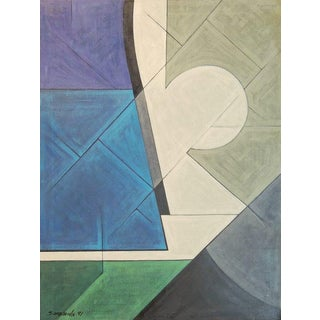 P. Sanasardo Abstract Painting