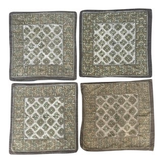 Block Print Pillow Covers - Set of 4