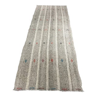 Bellwether Rugs Vintage Turkish Low Pile Hemp Runner - 3′3″ × 8′10″