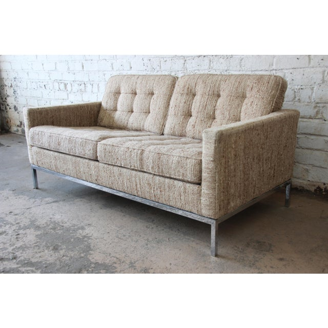 Florence Knoll Loveseat Sofa for Knoll International, 1977 - Image 2 of 11
