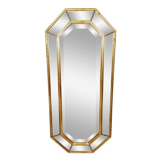 Vintage La Barge Italian Gilt Gold Beveled Mirror