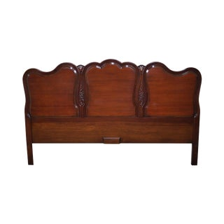 French Louis XV Style Fruit Wood Headboard