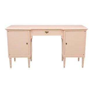 Louis XVI Vanity Desk in Blush