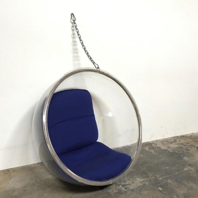 Eero Aarnio Plushpod Hanging Bubble Chair - Image 2 of 8
