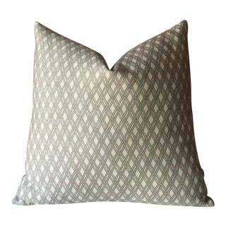 Robert Allen Sage Basket Weave Pillow Cover
