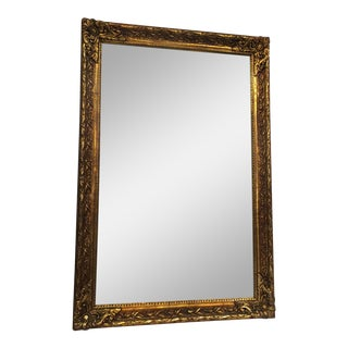 Traditional Carved Gold Gilded Mirror