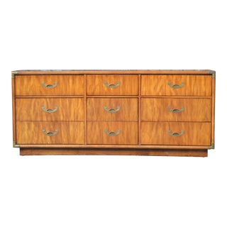 Solid Wood & Brass Campaign Dresser
