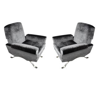 A pair of armchairs by Ico and Luisa Parisi