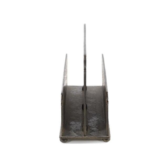 Tiffany Studio New York- Bronze Desk Letter Holder - Image 5 of 9