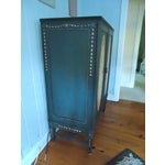 Image of Pretty Handpainted Vintage Cabinet