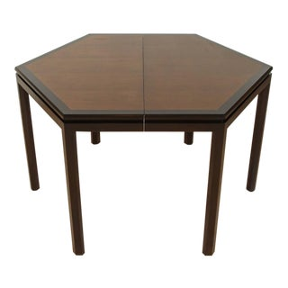 Hexagonal Dining Table by Edward Wormley for Dunbar