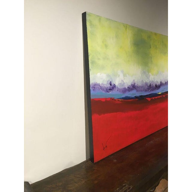 "Vincent Golshani ""Southern Rain"" Painting - Image 5 of 6"