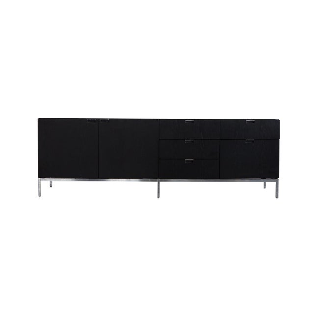 Knoll Marble Top Credenza - Image 1 of 4