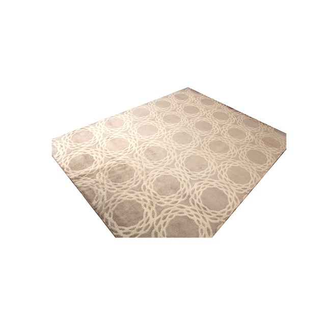 "Cococozy Tan ""Oxford"" Wool Rug - 8' x 11' - Image 7 of 9"