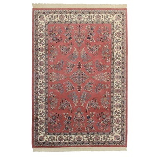 Hand Knotted Wool Persian Style Rug - 6′ × 8′9″