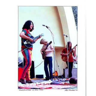 Original Jerry Garcia Grateful Dead Photograph