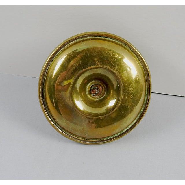 Vintage English Brass Match Striker Amp Holder Chairish