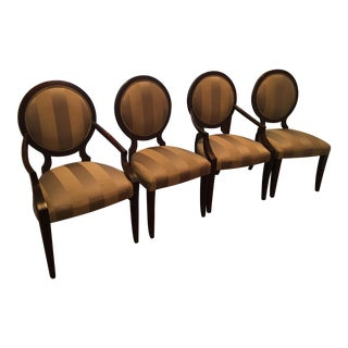 Ethan Allen Roundback Dining Chairs - Set of 4