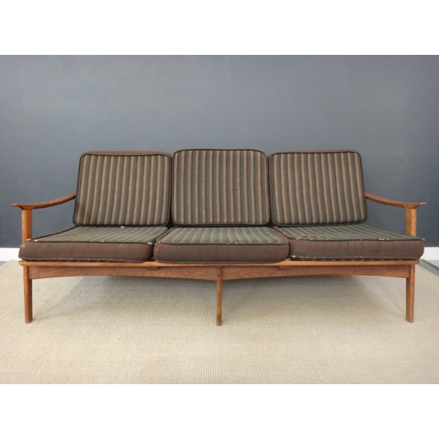 Danish Modern Lounge Sofa Frame - Image 4 of 4