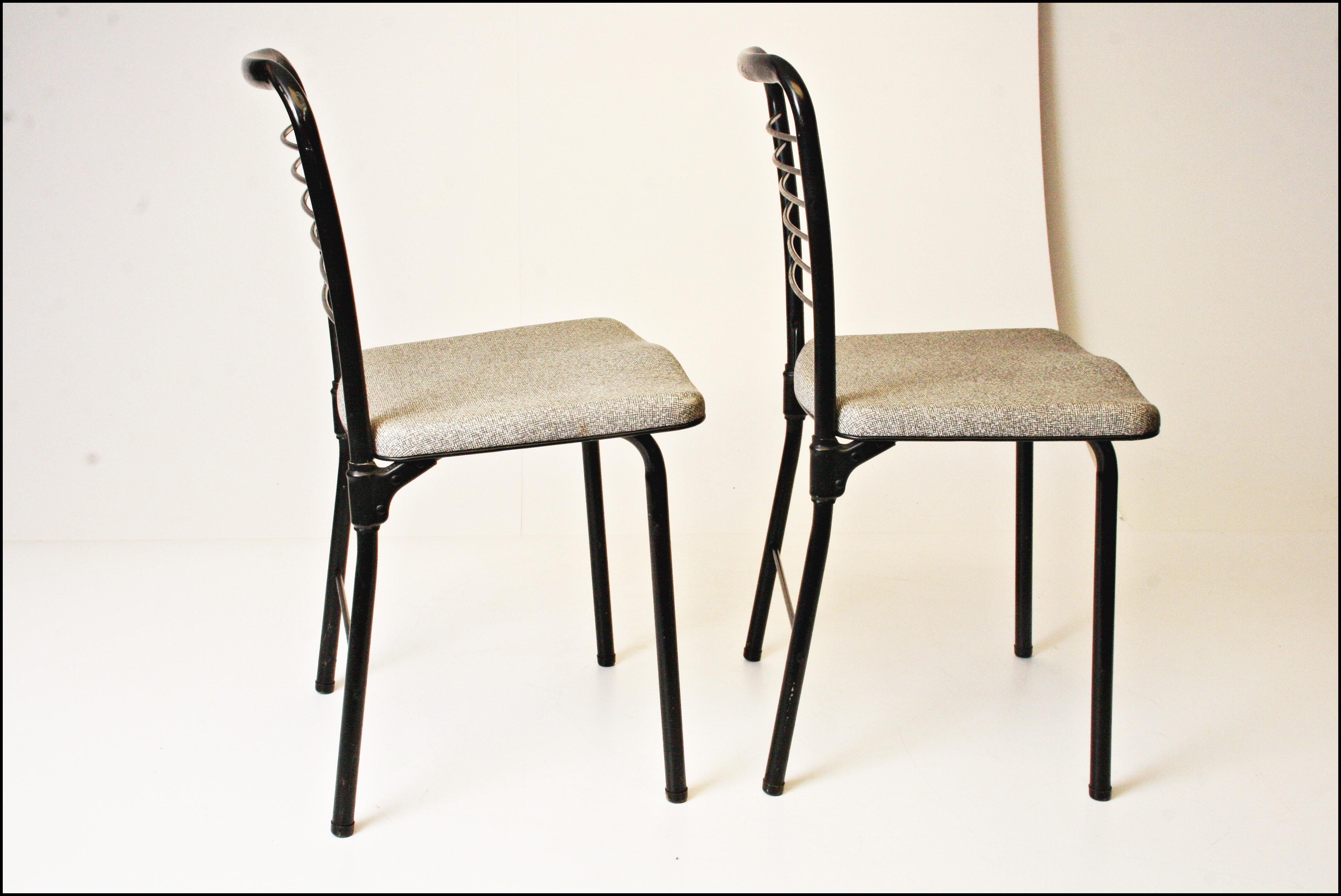 Mid Century Modern Cosco Folding Chairs Set of 4