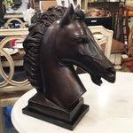 Image of P.J. Mene Bronze Stallion Bust