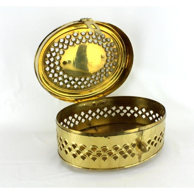 Pierced Brass Cricket Box - Image 5 of 5