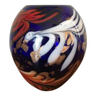Mid-Century Murano Art Glass Vase
