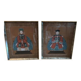 Emperor & Empress Prints - A Pair
