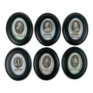 17th-Century Portraits - Set of 6