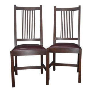 Stickley Side Chairs - A Pair
