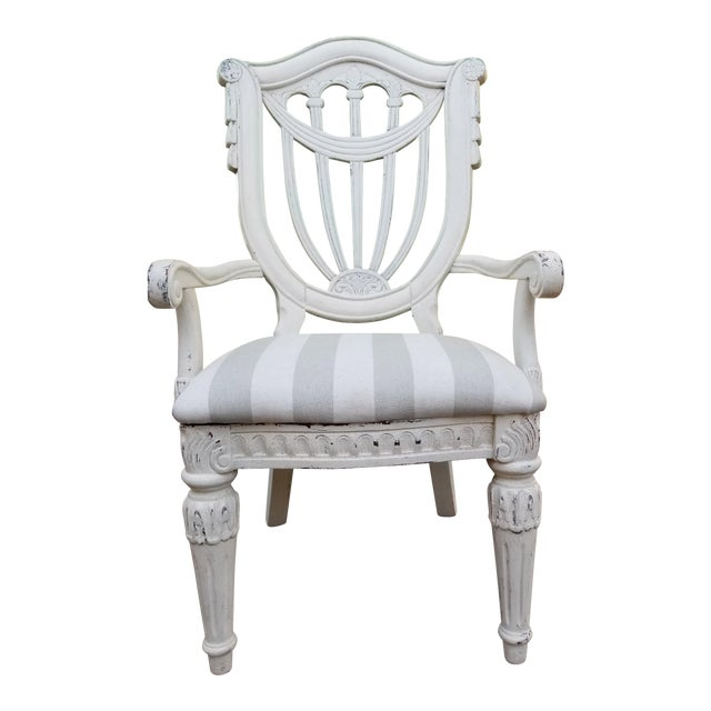 French Country Style Accent Chair Chairish