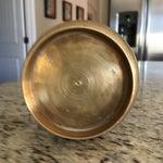 Image of Mid-Century Atomic Brass Vase