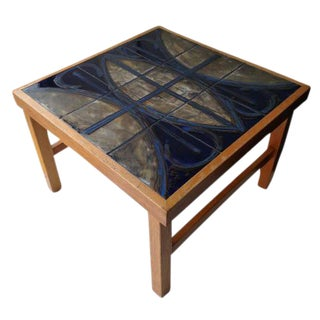 Mid-Century Mosaic Coffee Table