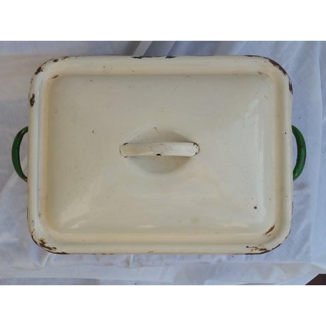 Art Deco Enamel Bread Bin - Image 5 of 5